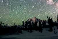 Stars in motion, Mt. Shuksan, Mt. Baker-Snoqualmie National Fore